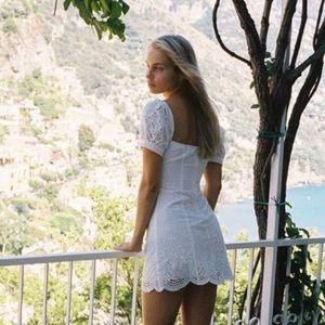NWT With Jéan Étole White Dress